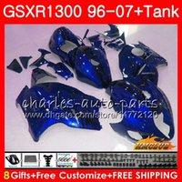 ingrosso perle abs-Kit per SUZUKI blu perla Hayabusa GSX-R1300 1996 1997 1998 2007 24HC.22 GSXR 1300 GSXR1300 96 97 98 99 00 01 02 03 04 05 06 07 Carenature