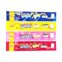 Wholesale aluminum bags food packaging for sale - Group buy Empty MEDICATED Nerds Rope Packing Bags styles option polyester foil Food package Nerdsrope Gummy candy bag smell proof