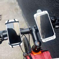 зажим велосипед руль оптовых-Оптовый держатель телефона велосипеда для велосипеда Руль Клип Стенд GPS Кронштейн DHL бесплатная пересылка j