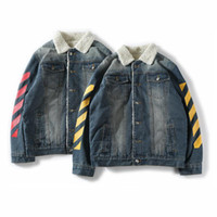 hoodies encapuzados de lã venda por atacado-Moda designer de moletom com capuz MONCL men \ 's jaqueta de roupas de lã denim jaqueta com capuz azul dos homens de luxo jaqueta de moletom com capuz tamanho grande S-XXL 80