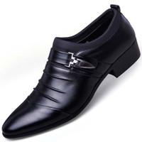 oxford kot toptan satış-Deri Erkek Resmi Ayakkabı Elbise Ayakkabı Moda Oxford İş Tasarım Oxford Düğün Ayakkabı Için Erkek