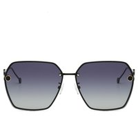 розовые солнцезащитные очки для мужчин оптовых-FENDI 0114 Солнцезащитные очки женские 2019 винтаж овальные очки блестящие линзы очки для мужчин дизайнер конфеты красный розовый желтый солнцезащитные очки