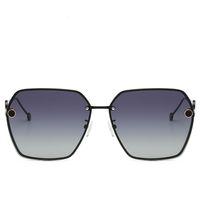 lentille rouge lunettes de soleil femmes achat en gros de-FENDI 0114 Lunettes de soleil femmes 2019 Vintage Lunettes ovales Glitter Lenses lunettes pour hommes Designer Candy rouge rose jaune Lunettes de soleil