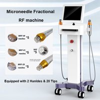 Wholesale beauty mark online - 2 in Microneedle skin Therapy micro needle RF Anti Aging Facial Skin Care Beauty Machine Stretch marks removal