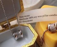 Wholesale waist bracelet resale online - Star of heaven luxury CNC micro diamond set small waist bracelet full diamond necklace bracelet three rings tail ring accessories chain