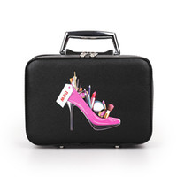 Wholesale cute makeup bags for sale - Group buy Cosmetic Bags Box Makeup Bag Women Cosmetic Cases Cute Beauty Case Travel Purse Jewelry Display Case Fashion Holder Small Size