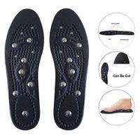 almohadillas para jóvenes al por mayor-1 par de plantillas de masaje magnético Salud Terapia de pies Botas Almohadillas para mujeres Hombres Jóvenes Ancianos