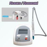 lazer modeli toptan satış-Pico lazer dövme kaldırma lazer makinesi çin Modeli İyi Etkileri güzellik enstrüman q anahtarı nd yag lazer dövme temizleme sistemi