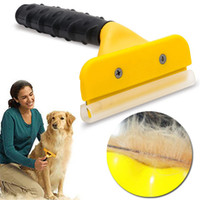 Wholesale dogs tools for sale - Group buy Pet Brush Dog Cat Comb Hair Removal Long Hair Short Hair Dog Grooming Deshedding Edge Tool T0143