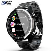 ingrosso i migliori telefoni mobili di orologio-LOKMAT Push Message Guarda il telefono cellulare Best Seller Men Smart Sim Guarda 4G Android WiFI Smartwatch