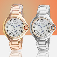 Wholesale best luxury couple watches resale online - Hot Couple Luxury Watch women mens watches Top Brand Fashion Full Stainless steel Quartz Wristwatches for Men Ladies best gift