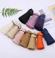 Wholesale roll up top resale online - Women Summer Sun Visor Hat Foldable Roll Up Wide Brim Open Top Straw Cap adult boho Beach Sun Cap KKA7795