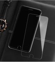 klarer film großhandel-Für iphoneX XS XR XS Max HD Klar explosionsgeschützt 0,35 MM Ultradünne Hartglas-Displayschutzfolie Für iPhone 7 Telefon Schutzfolie