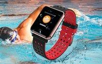 экранные устройства оптовых-Smart Watch M19 Женщины Мужчины Пульсометр Артериальное Давление Монитор Кислорода OLED Экран Спорт Smartwatch Носимых Устройств