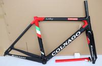 матовый серебристый уголь оптовых-18 цвет T1000 UD Colnago C64 серебристо-черный карбоновый рамы для велосипеда 48 см 50 см 52 см 54 см 56 см матовый глянцевый бесплатная доставка