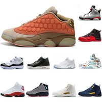 Wholesale new chinese basketball shoes resale online - 2019 New Terracotta Blush Cat Black Master Gym Red CNY Chinese New Year Mens Basketball Shoes Size Mens Designer Sports Shoes Trainers