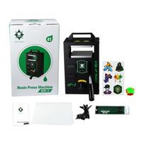 KP-1 Rosin Tech Heat Press Machine 115*120 4Ton Manual Hydraulic Rosin Press Machine With Double Heat Plate