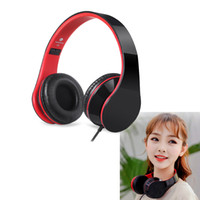 Wholesale over head earphones resale online - Wired Headphones For Computer Mobile Phone Stereo Headphone Big Earmuff Casque Audio Headset Earphone For PC Aux Head Phone Set