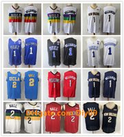 Wholesale zion williamson jersey resale online - Men Williamson New Orleans Pelicans Jersey Zion Williamson Authentic Stitched City Lonzo Ball Edition Vintage Basketball Jerseys