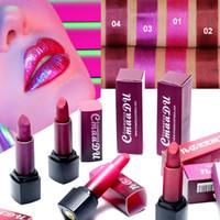 Wholesale make lipstick waterproof for sale - Matte Long Lasting Lipstick Women Professional Makeup Waterproof Matte Lipstick Lips Beautuy Make Up Tools Colors RRA1158