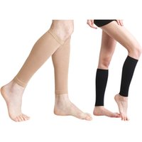 a96c7d7a8e Women Soft Leg Slim Stretch Sleeve Shaping Weight Loss Long Socks Gym  Fitness Body Building Sports Safety Accessories 2019