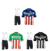 camisa de ciclismo rosa para homem venda por atacado-2019 homens ciclismo jersey branco preto verde manga curta brooklyn ciclismo clothing roupas de bicicleta de verão mtb / road bike wear personalizado