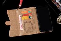 elmas çevir cüzdan toptan satış-Lüks Tasarımcı Elmas Deri Cüzdan Flip Case iPhone X XS Max XR 8 7 6 6 S Artı Kart Yuvası Fotoğraf Çerçevesi kılıfları
