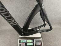 матовый серебристый уголь оптовых-Серебро отличительные знаки ОДИН Антрацит RB1000 T1100 углеродного волокна набор дорожных велосипедов раме велосипеда 3K штейна М Cipollini RB1K THE