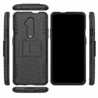 Wholesale oneplus in for sale – best 2 in Comb Armor Kickstand Hybrid Impact Resistant Removable Tire Armor Hard Skin phone Case For oneplus T T pro
