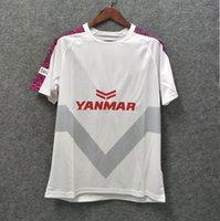 grandes fanáticos blancos al por mayor-^ _ ^ 2019 Cerezo Osaka camiseta de fútbol blanca ventiladores de fútbol camisetas Tailandiat calidad tamaño grande xxl envío gratis