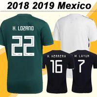 méxico nacional equipe venda por atacado-2018 México CHICHARITO H. LOZANO Camisas de Futebol GUARDADO Home Camisas de Futebol Homens 2019 Selecção Nacional JIMENEZ H. HERRERA LAYUN Uniformes