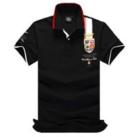 Wholesale polo shirt brands for men for sale – custom Fashion Brand Poloshirt Solid Embroidery Shirt Men Polo Shirts Long Sleeve Mens Basic Top Polos For Boys Designer T Shirt