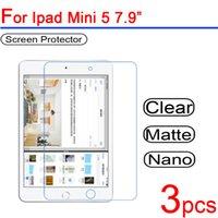 ipad clear schirmabdeckungen großhandel-3pcs Ultra Clear PET weiche LCD für Ipad Mini 5-Schirm-Schutz-Schutz-Abdeckung für Ipad Mini 5 7.9