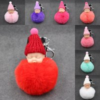 Wholesale lady bag key for sale - Group buy Purse KeyChain Colors Lady Wallet Keychains Headbag Keyrings Bag Pendent Cute Little Baby Shaped Car Key Chain Bag Ornaments M132Y