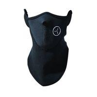 aquecedores de rosto venda por atacado-Esportes ao ar livre No Pescoço Aquecedores de Velo Balaclavas Esqui À Prova de Vento Metade Máscara Facial Neoprene Máscara de Pesca de Caça Acessórios de Caça