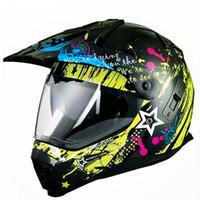 Wholesale xl blue motorcycle helmet resale online - Black Motorcycle Helmet Motorcycle Full Face Helmet Motocross Men s Adventure Downhill DH Racing Casco Moto DOT