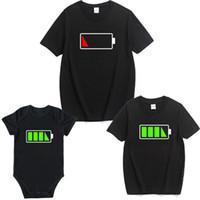 des tenues familiales assorties pour l'été achat en gros de-Pack famille T-shirt d'été Bébé fille Combi-short Casual T-shirt à encolure arrondie Assortiment familial T-shirt d'été actif Tops 3XL