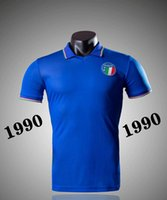 Wholesale top football teams for sale - Group buy Top Discount Italy National team retro home soccer jerseys italy MALDINI BARESI Roberto ZOLA CONTE vintage classic football shirts