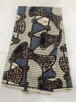 tecidos java print venda por atacado-Tecido africano JAVA imprime tecido de cera para a senhora roupa popular quality assureden impressão bloco java cera tecidos 6 metros! OT-4105
