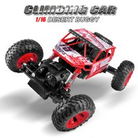 Wholesale 4wd drift cars resale online - 1 Rc Car wd Drift Highspeed Climbing Rc Remote Control Cars Four Wheel Drive Rc Deformation Racing Model