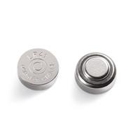 bateria de moedas recarregáveis venda por atacado-1.5 V AG3 L41 livre mercúrio botão alcalina célula não-recarregável moeda bateria para dispositivos médicos de relógio