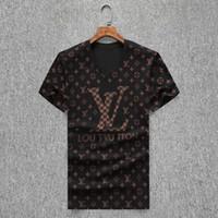 Wholesale boys hooded tops for sale - Group buy 668 New Arrival Summer Desig Men T Shirt Hip Hop Short Sleeve Slim Tops Tees T Shirts Fashion Medusa Casual Man T Shirt Boy Tshirt