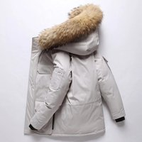 Wholesale long goose down jacket for sale - Group buy 19ss Designer Jackets Winter Jacket Mens White Duck Down Jacket With Hoodies Black Blue Canada New Man Fashion keep warm goose Down Jackets