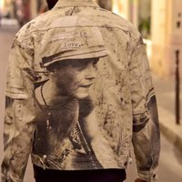 soldat drucken großhandel-19FW Is Love Box Logo Soldaten Printing Jacke Frauen Männer Paar Outdoor Street Mantel Mode-Sport-beiläufige Reißverschluss Skate Jacken HFHLJK042