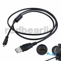 Wholesale Replacement USB Cable UC E6 for Nikon COOLPIX S4000 S4200 S5100 S70 S80 S800C S8000 D3200 D5000 L20 L22 L100 L120 Digital Camera US03