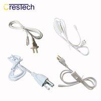 powered extender großhandel-Netzkabel mit US-Stecker und eingebautem EIN / AUS-Schalter, integrierter LED-Röhren-Verlängerungskabel - Weiß