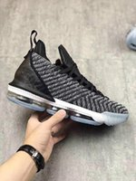 zapatillas de correr talla 16 para hombre al por mayor-Zapatos LeBron James 16 Soy el rey LeBron 16 Buzzs Lightyeas 1 Mid Men zapatos para correr tamaño us7-us12