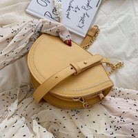 Wholesale mini purse for cell phone resale online - Mini Shell Crossbody Bags For Women Fashion Chain Leather Shoulder Messenger Bag Lady Summer Travel Purses and Handbags