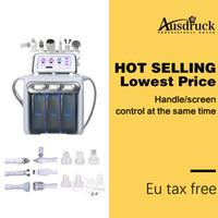 máquina de peeling aqua al por mayor-Nueva llegada 6 en 1 Aqua Peel con hidrógeno facial anti-envejecimiento H2-O2 Spa Machine