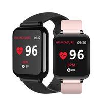 Wholesale kids watches resale online - B57 Smart watches Waterproof Sports for iphone phone Smartwatch Heart Rate Monitor Blood Pressure Functions For Women men kid Smart bracelet